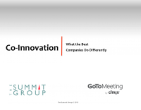 Co – Innovation: What the Best Companies Do Differently