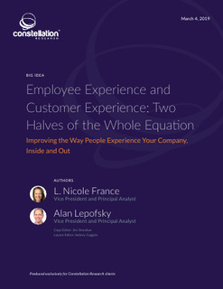 Employee Experience and Customer Experience: Two Halves of the Whole Equation