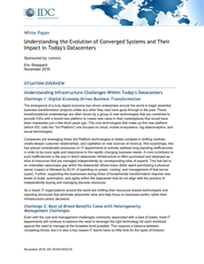 Understanding the Evolution of Converged Systems and Their Impact in Today's Datacenters
