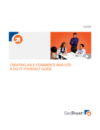 Creating an E-commerce Web Site: A Do-It-Yourself Guide