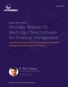 Workday Release 26 Beefs Up Cloud Software for Financial Management