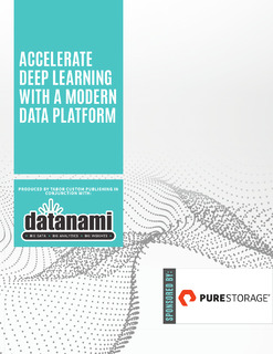 Accelerate Deep Learning with a Modern Data Platform