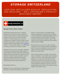 Unifying Virtualized Backup, Replication & Recovery
