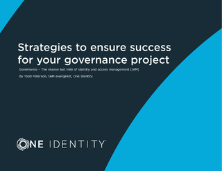 Strategies to Ensure Success for Your Identity Governance Project