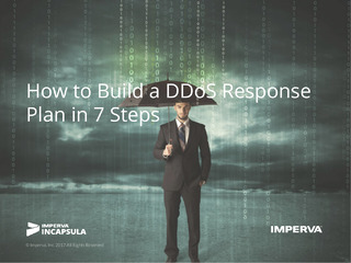 How to Build a DDoS Response Plan in 7 Steps