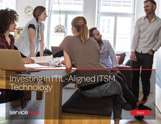 Investing in ITIL-Aligned ITSM Technology