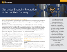 Symantec Endpoint Protection and Secure Web Gateway