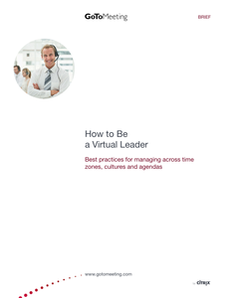 How to be a Virtual Leader