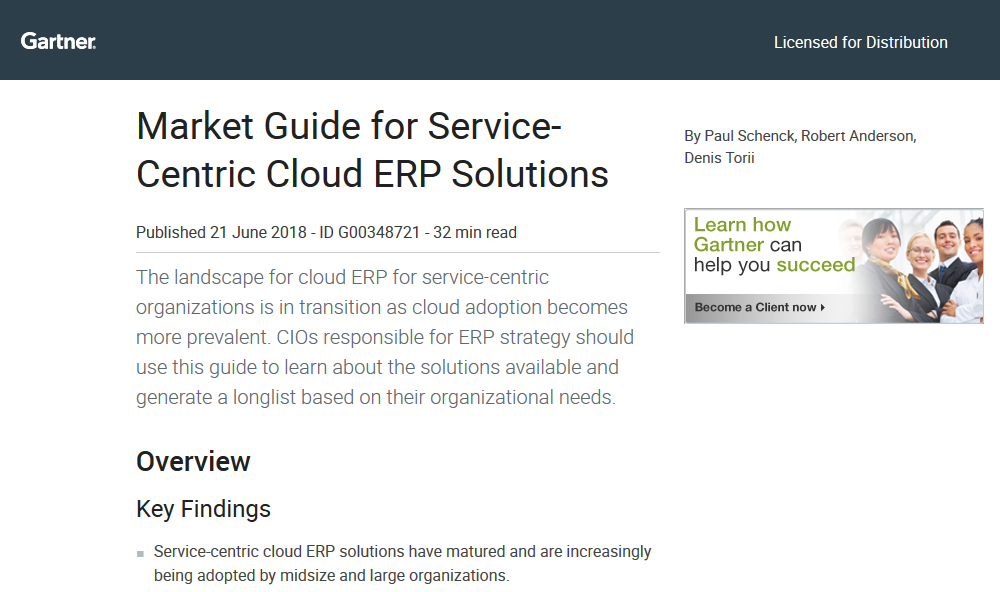 Your Guide to Service-Centric ERP Solutions