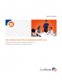 Securing Multiple Domains with SSL