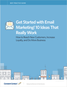 Get Started with Email Marketing! 10 Ideas That Really Work