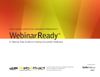 Webinar Ready: A Step by Step Guide to Hosting Successful Webinars