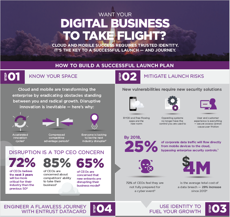 Infographic – Take Flight with Your Digital Business