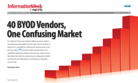 40 BYOD Vendors,One Confusing Market