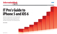 IT Pro's Guide to iPhone 5 and iOS 6