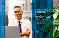 From Monologue to Dialogue: Adding Interaction to Your Presentations