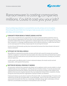 Ransomware is Costing Companies Millions-Could It Cost You Your Job?