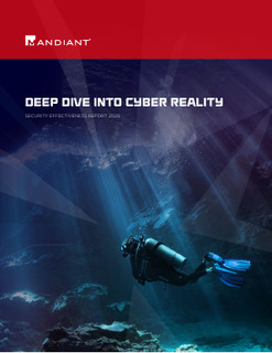 Mandiant Security Effectiveness Report 2020: Deep Dive into Cyber Reality
