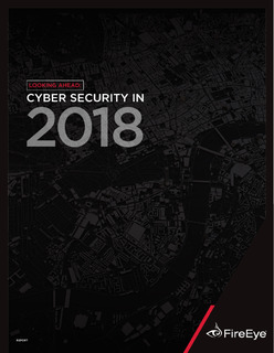 Cyber Security in 2018