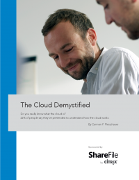 The Cloud Demystified