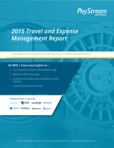 2015 Travel and Expense Management Report