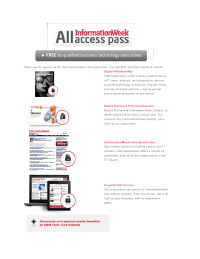 All Access Pass (Old)