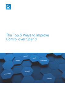 The Top 5 Ways to Improve Control over Spend