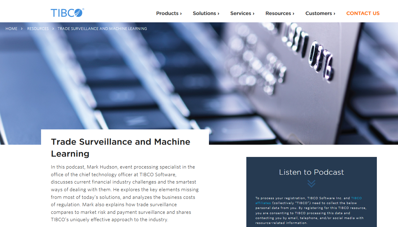 Trade Surveillance and Machine Learning