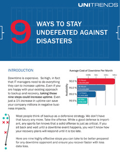 9 Ways to Stay Undefeated Against Disasters