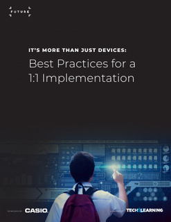 Best Practices for a 1:1 Implementation