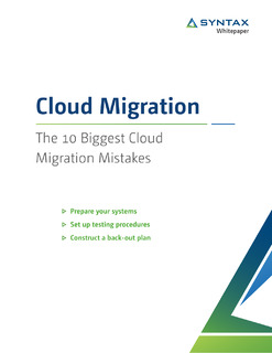 The 10 Biggest Cloud Migration Mistakes