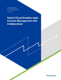 Hybrid Cloud Enables Agile Content Management and Collaboration
