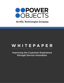 Improving the Customer Experience through Service Innovation
