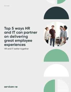 Top 5 Ways HR and IT Can Partner to Deliver Great Employee Experiences