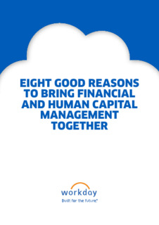 Eight Reasons for One Finance and HR System