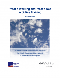 What's Working and What's Not in Online Training