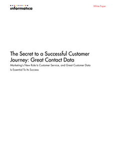 The Secret to a Successful Customer Journey: Great Contact Data