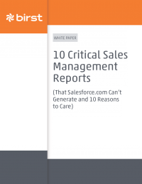 Critical Sales Management Reports that Salesforce.com Can't Generate