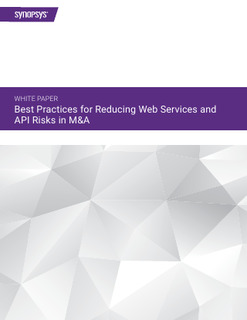 Best Practices for Reducing Web Services and API Risks in M&A