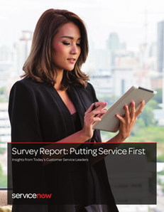 Survey Report: Putting Service First