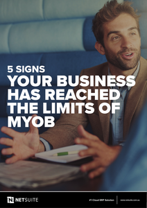 5 Signs Your Business Has Reached the Limites of MYOB