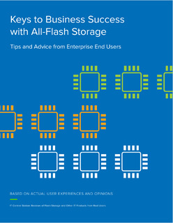 Keys to Business Success with All-Flash Storage