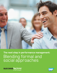 The next step in performance management: Blending formal and social approaches