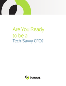 Are You Ready to Be a Tech Savvy CFO?