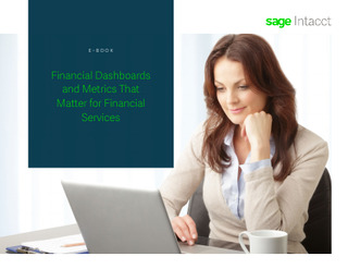 Financial Dashboards and Metrics That Matter for Financial Services