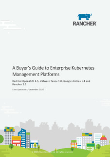 A Buyer's Guide to Enterprise Kubernetes Management Platforms