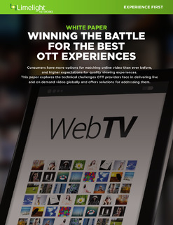 Winning the Battle for the Best OTT Experiences