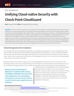 ESG Cloud Native Security Whitepaper