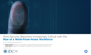 Print Security Becomes Increasingly Critical with the Work-From-Home Workforce