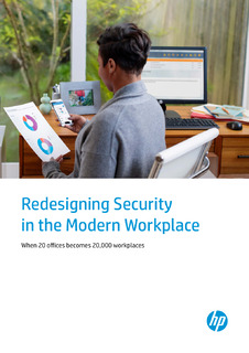Redesigning Security in the Modern Workplace